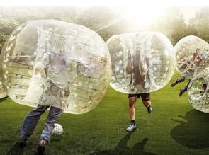 Fútbol burbuja en Murcia