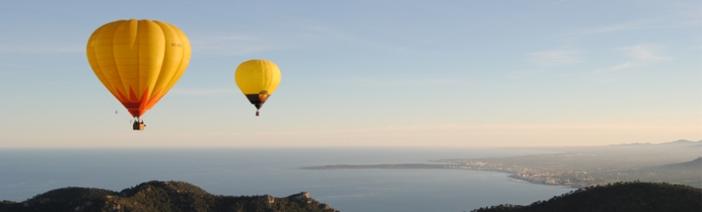 Paseo en globo en Murcia